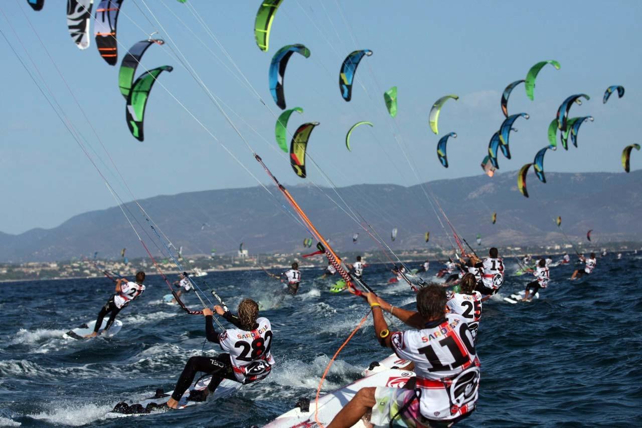 Cagliari Mondiali Kitesurf 2012