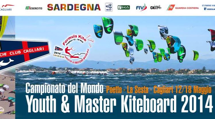 Manifesto Cagliari Mondiali Kitesurf 2014