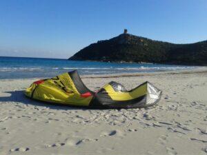 Kitesurf Villasimius Sardegna : Spiaggia di Porto Giunco, Timi Ama