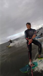 Servizio foto go-pro Kitesurf in Sardegna Lucas Rey Max Maran