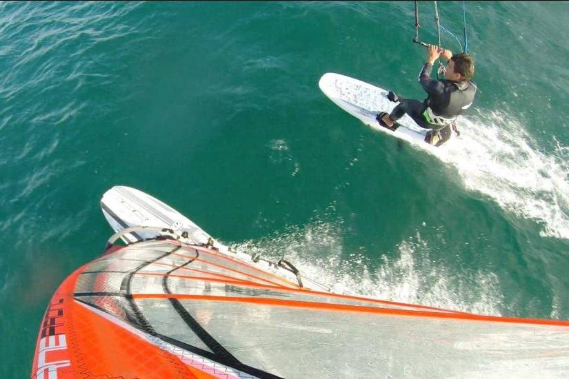 Servizio foto go-pro windsurf kitesurf Sardegna