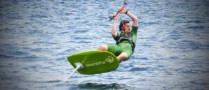 Corso Kite Hydro Foil Race a Cagliari in Sardegna
