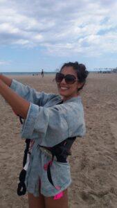 Prima Lezione di Kite a Cagliari in Sardegna