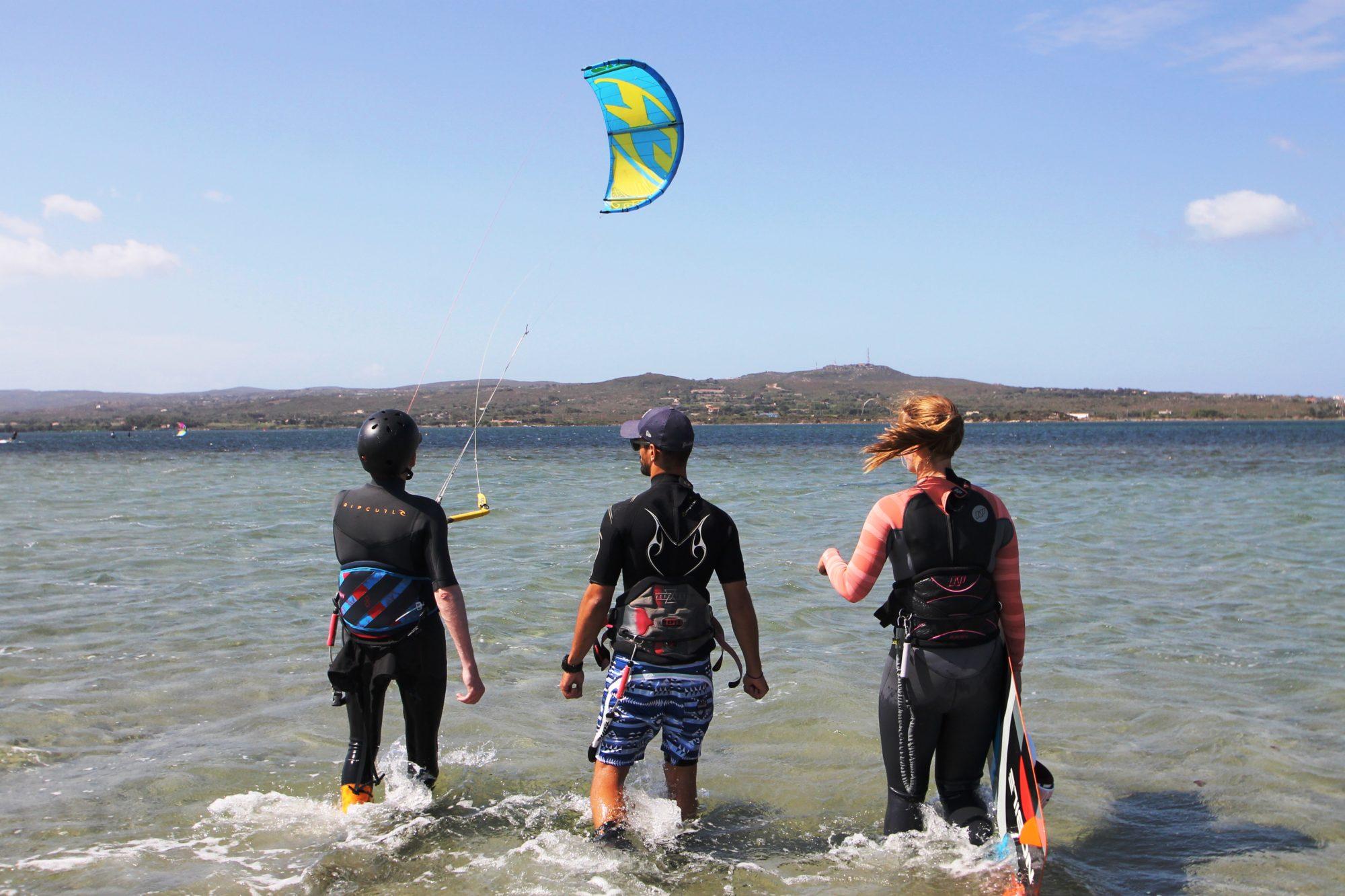 Corso kite completo in Sardegna con KiteGeneration