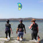 Team Building con Corso di Kitesurf in Sardegna