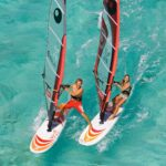 Team Building con il Windsurf a Punta Trettu in Sardegna