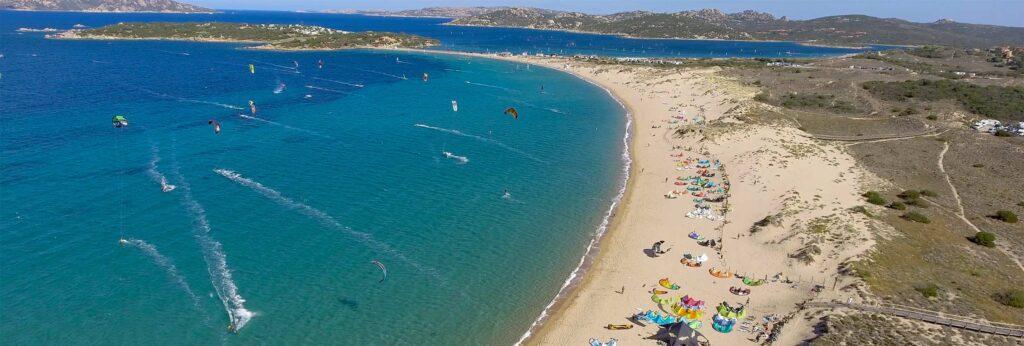 kitesurf a Porto Pollo Sardegna